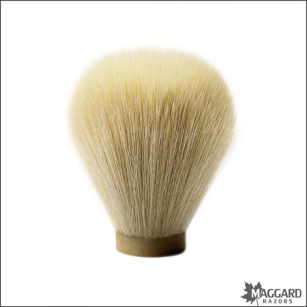 Maggard-Razors-24mm-Beige-Synthetic-Shaving-Brush-Knot